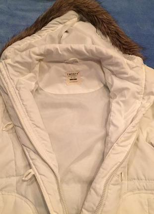 Куртка twenty белая
