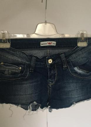 Шорты джинсовые, шорти джинсові,