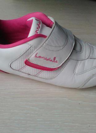 Кожаные кроссовки lonsdale оригинал 37 размер