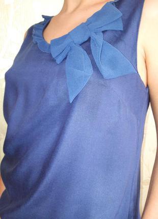 Нежная блузка с бантом