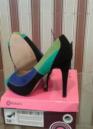 Новые женские туфли ronzo