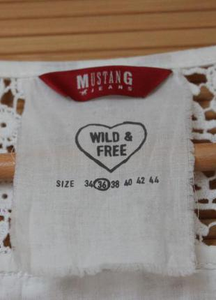 Красивая блуза рубашка  от mustang jeans