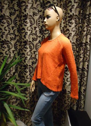 Zara trafaluc, свитер свободного кроя, р-р s
