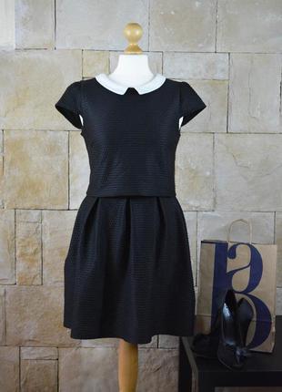 Акция 1+1=3 -трендовое платье с воротником в рубчик от atmosphere