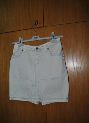 Джинсовая юбка mustang
