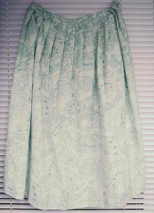 Красивая юбка с орнаментом сонце-клеш бренда ewm