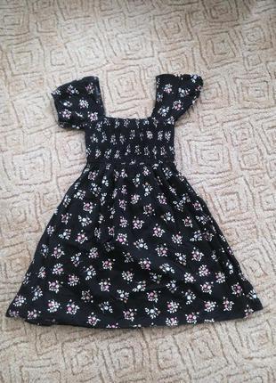 Красивое платье в цветочный принт evie