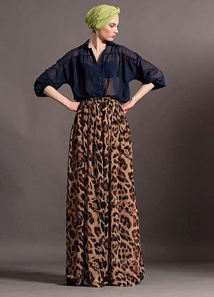 Шелковая дизайнерская юбка