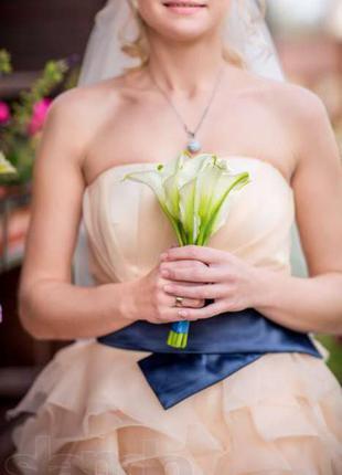 Супер платье на выпускной или свадьбу!