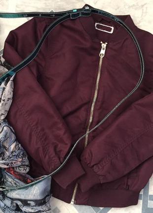 Укороченная куртка/пиджак/жакет/бембер/весна-лето-теплая осень