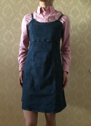 Сарафан джинсовый / платье джинсовое