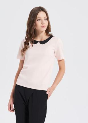 Блуза нежно-розовая sinsay