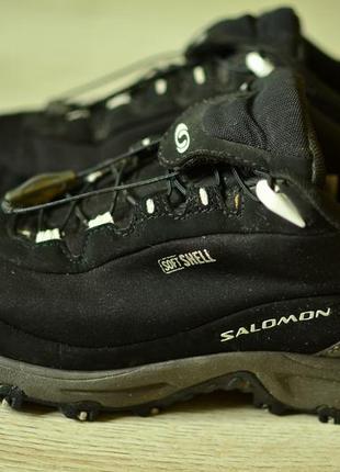 Кроссовки/ треккинговые ботинки salomon softshell