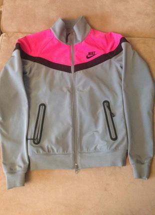 Nike оригинал ветровка кофта в стиле ретро