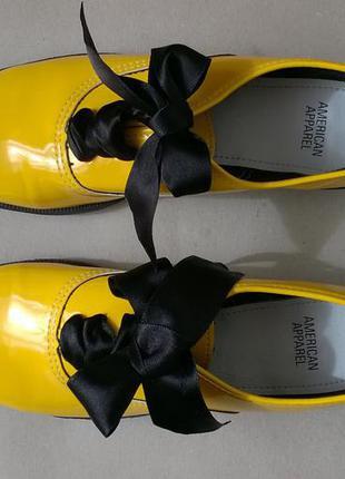 Туфли american apparel, туфли -бобби, танцевальные туфли