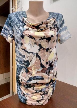 Нарядна подовжена футболка від gerry weber