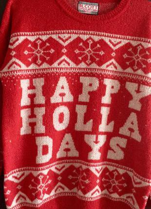 Традиционно зимний свитер