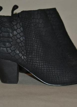 Кожаные ботинки 38р. от next