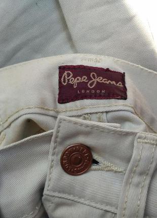 Pepe jeans mom айвери высокая талия