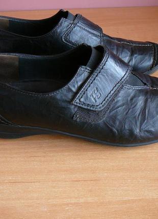 Классные кожаные туфли фирма paul green ( стелька - 26 см )