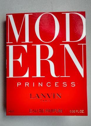 Пробник lanvin modern princess