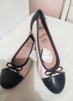 "Кожаные балетки.,,caprice"" германия.размер 37,5"