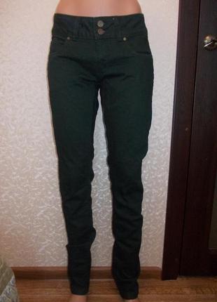 Новые джинсы супер скини черные