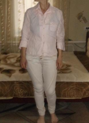 Рубашка 100% лен