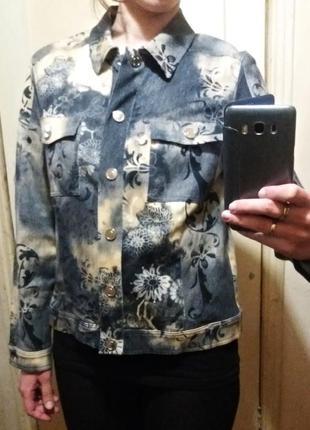 Betty barclay куртка/принт