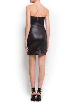 Платье .кожа 100%