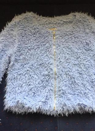 Очаровательная меховая курточка от fee red