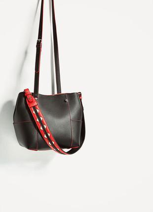 Шикарные сумки шоппер zara,испания