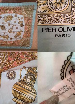 Платок pier olivier paris.made in italy