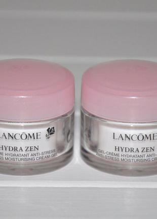 Крем гель для всех типов кожи lancome hydra zen 15мл