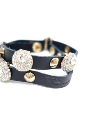 Кожаный браслет из итальянской коллекции.