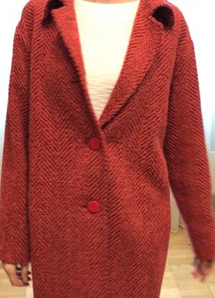Twin-set пальто новое (италия)