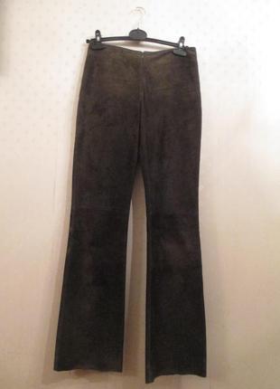 Шикарные брюки kookai замш (pork siede)