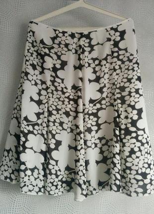Шифонова юбка мелка жатка