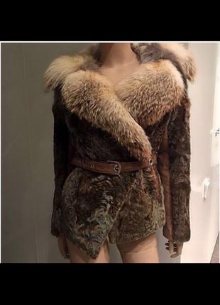 Итальянская меховая куртка