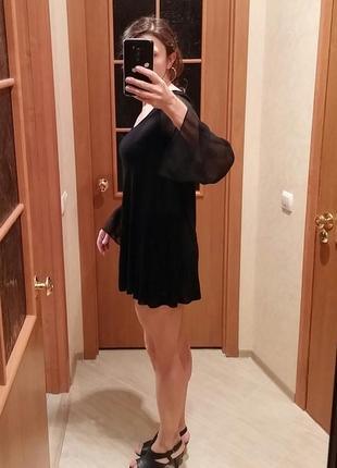 Короткое платье, туника h&m, р.s-м3