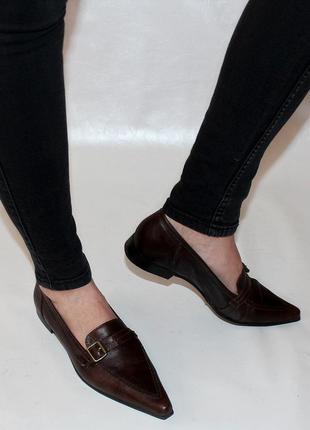 Туфли 38.5 marc o'polo италия кожа, оригинал