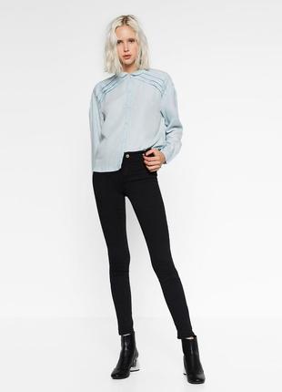Стрейчевые джеггинсы ,укороченные джинсы от zara