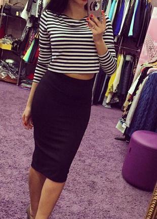 Супер стильная юбка миди обалденого качества
