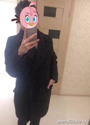 Пальто (шерсть) mango