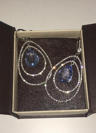 Juicy couture сережки оригинал подарок серьги камни