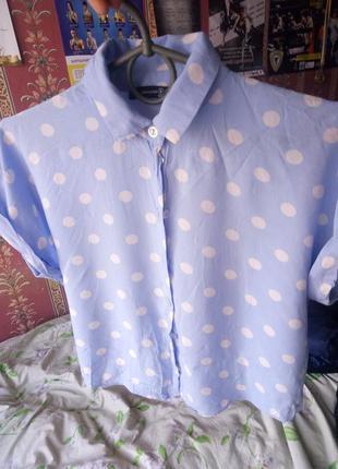 Шикарная укороченная блуза от atmosphere!!
