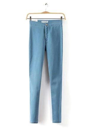 Новые джинсы с завышеной талией