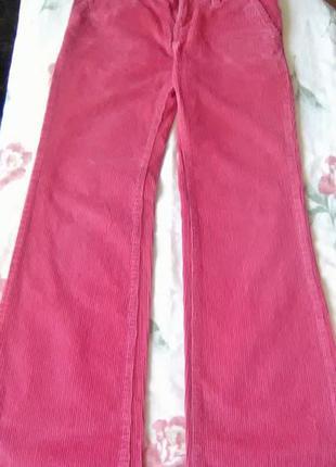 Вельветовые джинсы мадок
