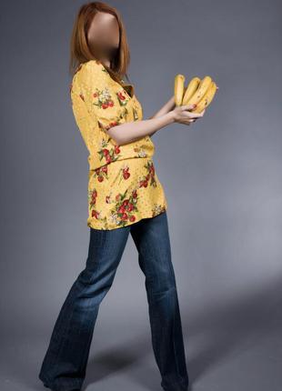 Шелковая блуза на подкладке