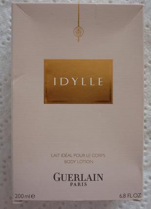 Вкусно пахнющий , увлажняющий лосьйон guerlain idylle body lotion 200мл